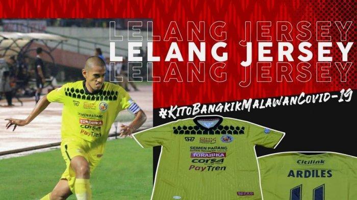 Semen Padang FC Lelang Jersey Lewat Instagram, Bantu Tim Medis Lawan Covid-19