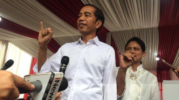 Jokowi-Ma'ruf Menang di TPS Amien Rais, Habib Rizieq, Sandiaga Uno dan Tommy Soeharto