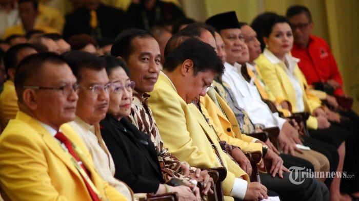 Jokowi Sebut Suasana Munas Golkar Terasa Sejuk, Karena Mundurnya Bambang Soesatyo