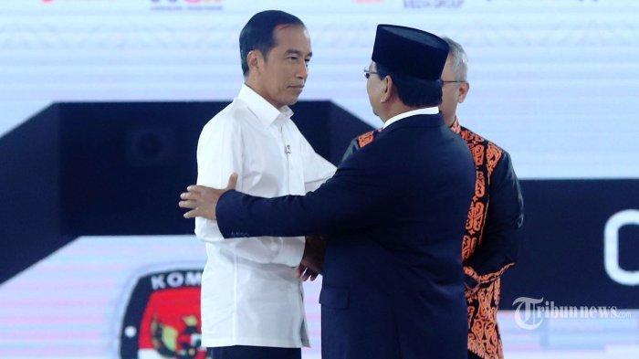 Hasil Survei Roy Morgan Elektabilitas Jokowi-Maaruf Masih Unggul Dibanding Prabowo-Sandi,Jarak Tipis