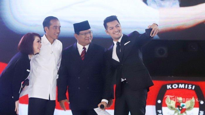 Menakar Elektabilitas Jokowi-Maaruf Amin vs Prabowo-Sandi dari Empat Lembaga Survei