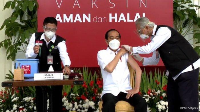 Penyuntikan Vaksin Dimulai Hari Ini, Presiden Jokowi Jadi Orang Pertama Yang Disuntik