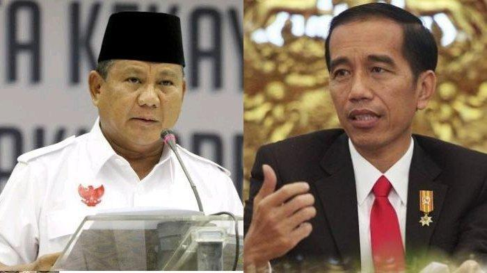Hasil Survei Elektabilitas dari SMRC Jokowi-Ma'ruf Amin 57,6 Persen, Prabowo-Sandi 31,8 Persen