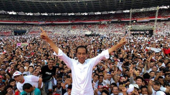 Jokowi-Ma'ruf Menang di Berbagai Lembaga Survei, Jokowi: Tunggu Perhitungan Resmi KPU