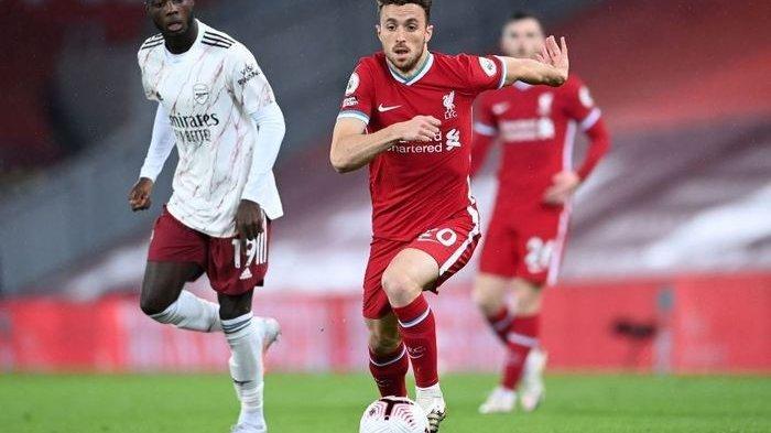 Liverpool vs Fulham - The Reds Bikin Penasaran, Cantumkan Diogo Jota di Starting XI