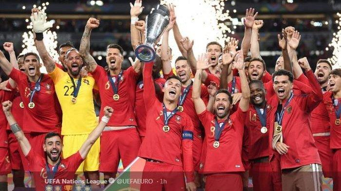 Timnas Portugal juara UEFA Nations League 2018-2019.