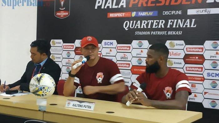 Gol Kontroversial Patrich Wanggai ke Gawang Persija Jakarta, Ini Kata Pelatih Kalteng Putra
