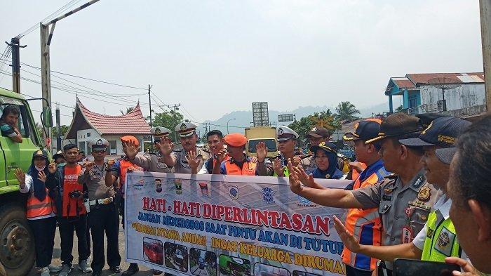 PT KAI Drive II Sumbar Sosialisasi Perlintasan di Stasiun Duku Kabupaten Padang Pariaman