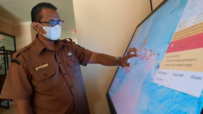BPBD Padang Pariaman Terima Alat Peringatan Dini, Ancaman Risiko Gempa Bumi dan Tsunami