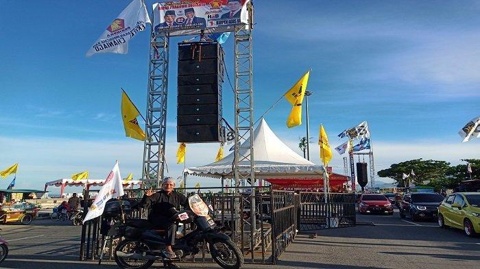 Hari Ini Capres 02 Prabowo Subianto Kampanye Akbar di Kawasan Danau Cimpago Kota Padang