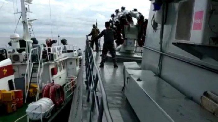 VIRAL Video Kapal Vietnam Menabrak Kapal Perang Indonesia, Kenapa TNI AL Tidak Lepaskan Tembakan?