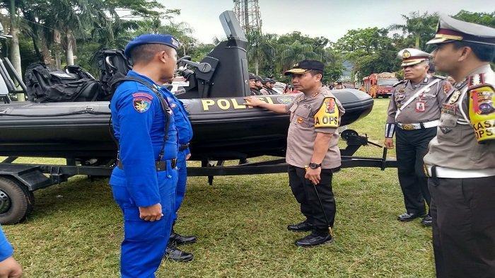 Jelang Natal dan Tahun Baru,Polri dan Instansi Terkait Adakan Apel Gelar Pasukan Operasi Lilin 2019