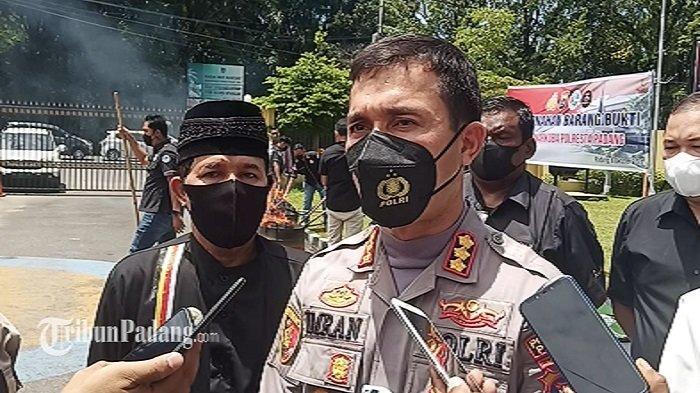 Kapolresta Padang Kombes Pol Imran Amir Tindak Tegas Anggota yang Terlibat Narkoba