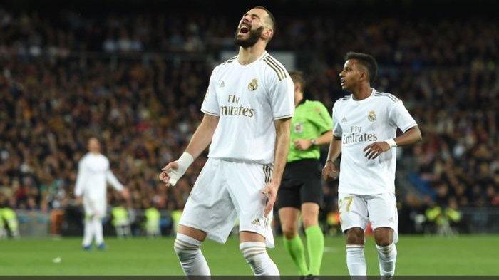 Hasil Derbi Madrid - Benzema Selamatkan Real Madrid, Gol Suarez Sempat Runtuhkan Los Blancos