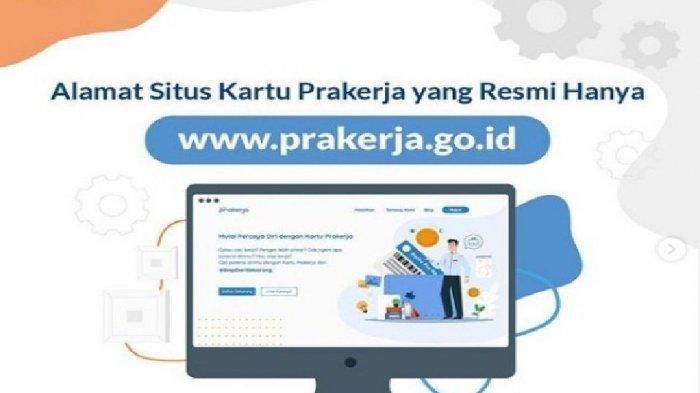 Cara Daftar Kartu Prakerja Gelombang 17, Akses www.prakerja.go.id dan Pastikan Sudah Punya Akun
