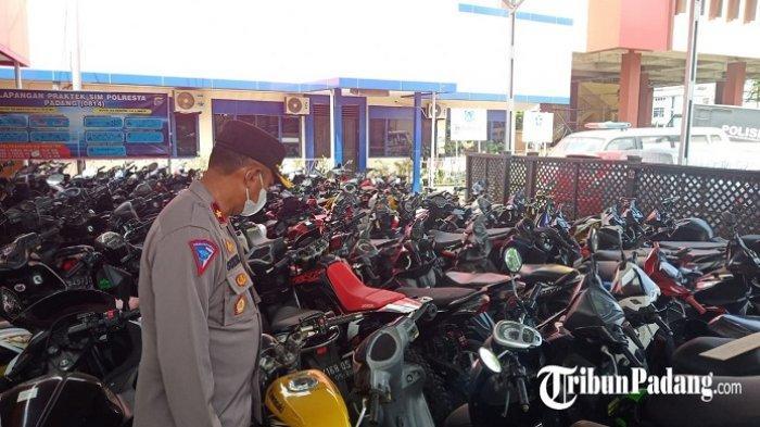 Balap Liar, 200 Sepeda Motor Diamankan Polresta Padang Selama Ramadan 2021