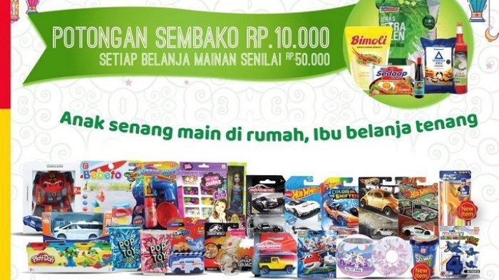 TERBARU Katalog Promo Alfamart Update 18 Mei 2020, Dapatkan Diskon Sembako Rp 10 Ribu