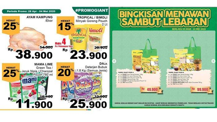 Katalog Promo Giant Hari Ini, Harga Spesial Gula Pasir, Minyak Goreng hingga Aneka Bingkisan Lebaran