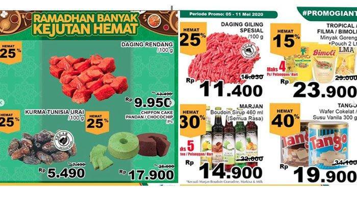 Katalog Promo Giant Periode 5-11 Mei 2020, Biskuit Hemat 40%, Sirup 30%, Minyak Goreng Rp 23.900