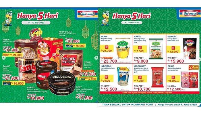 UPDATE Promo Indomaret, Super Hemat Minuman Makanan hingga Promo Pembayaran Non Tunai, Ada LinkAja