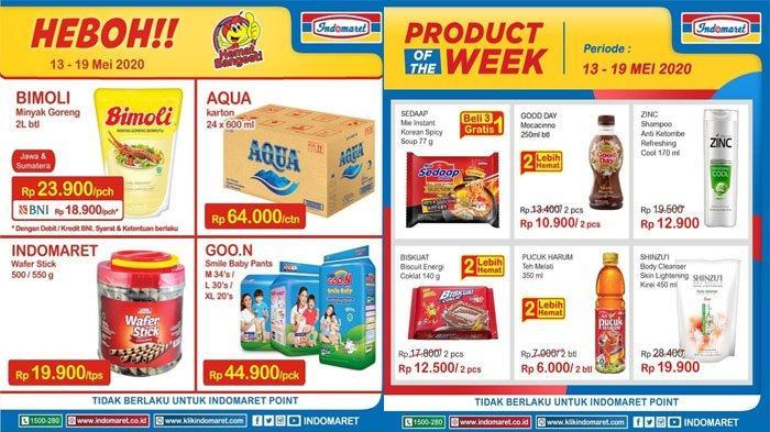 KATALOG Promo Indomaret Update Kamis 14 Mei 2020: Minyak Goreng Bimoli 2 Liter Cuma Rp 23.900