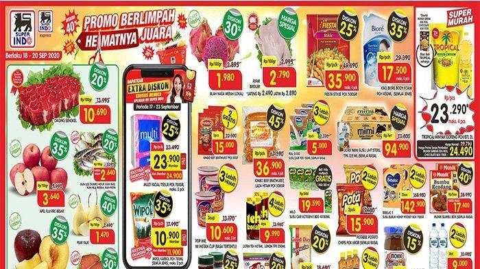 Katalog Promo JSM Superindo Terbaru Periode 18-20 September 2020, Ada Minyak Goreng Super Murah