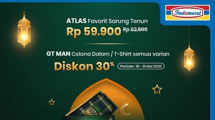 KUMPULAN Katalog Promo Lebaran Indomaret Terbaru 21 Mei 2020: Diskon 30% Celana Dalam GT Man