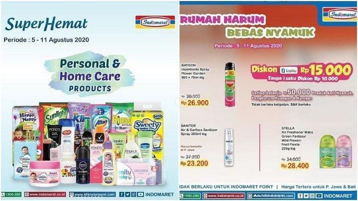 Cek Katalog Promo Super Hemat Indomaret Berlaku Mulai 5 hingga 11 Agustus 2020