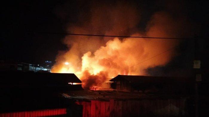 Jumlah Lapak Hangus Akibat Kebakaran Pasar Bawah Bukittinggi, Kadis Damkar: Sekitar 300 Kios