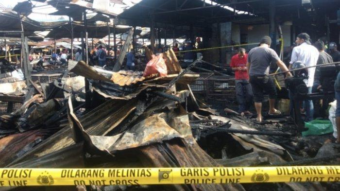 Kronologi Kebakaran Pasar Bawah Bukittinggi, Petugas Ronda Lihat Api Pertama Kali di Kios Gula Aren