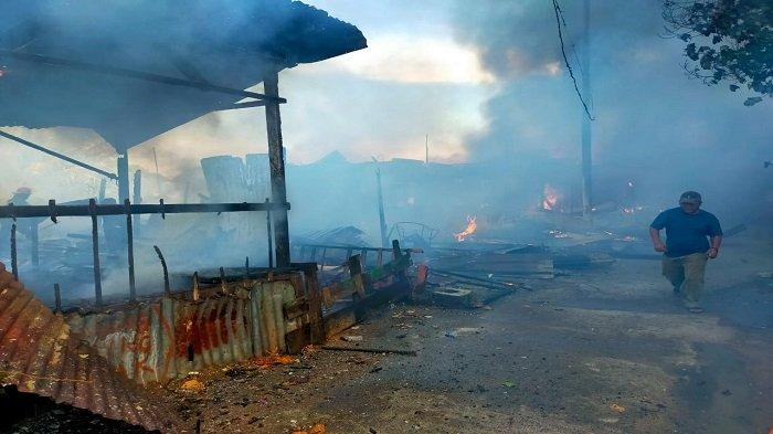 Kronologi Kebakaran 6 Unit Rumah dan 1 Unit Sepeda Motor di Padang