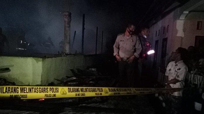 Kebakaran Rumah di Sungai Limau Padang Pariaman, Seorang Kakek Penghuni Ditemukan Tewas di Kamar
