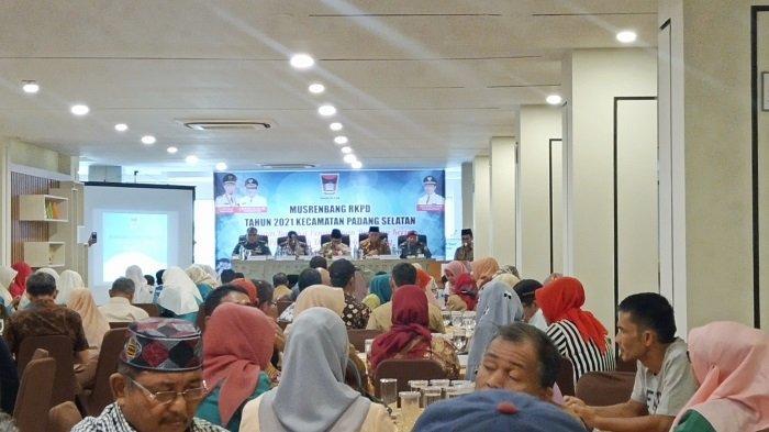 Musrenbang Kecamatan Padang Selatan, Pembangunan Fisik dan Sarana Prasarana Menjadi Prioritas