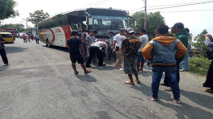 SUMBAR - Kecelakaan Bus NPM dan Angdes, 1 Sopir Tewas| CPNS Solok Selatan Soal Formasi