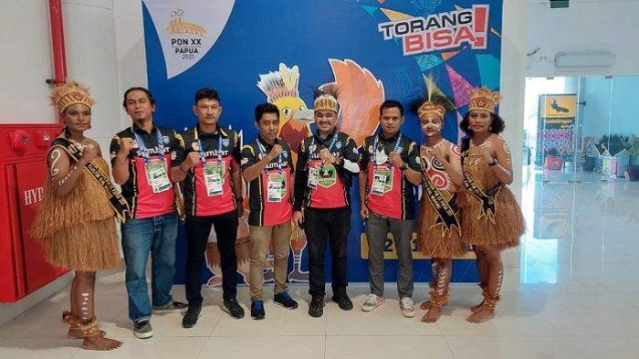 Tim Bermoto Sumbar Mendarat di Marauke, Optimis Sumbang Medali di PON XX Papua 2021
