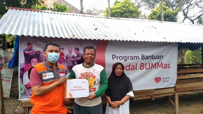 Dibina Rumah Zakat Sumbar, Kelompok Usaha Bersama Siap Panen Ayam Kampung