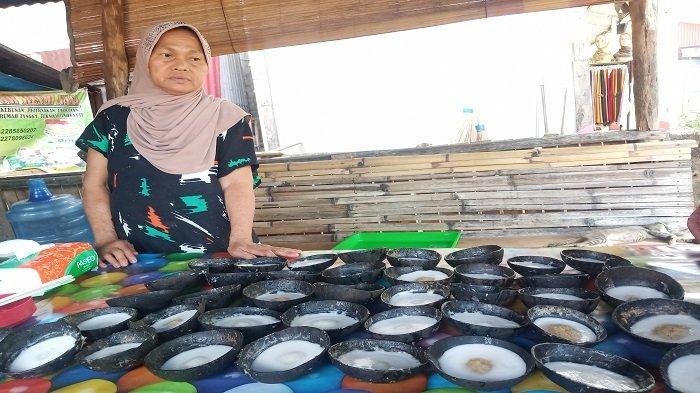 Kue Mangkuak Syamsibar di Koto Tangah Kota Padang: Jajanan Tradisional Manis Kenyal, Bikin Ketagihan