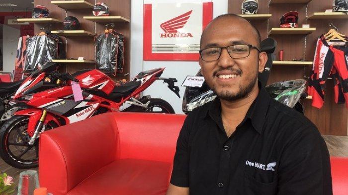 Kisah Erick Sandy, Dulu Suka Bolos Sekolah, Kini Jadi Kepala Cabang Wing Dealer Honda Hayati Padang