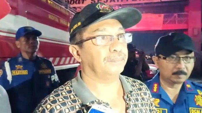 Kebakaran di Padang Teater Pasar Raya Hanguskan 15 Petak Toko, Kios Pakaian hingga Elektronik