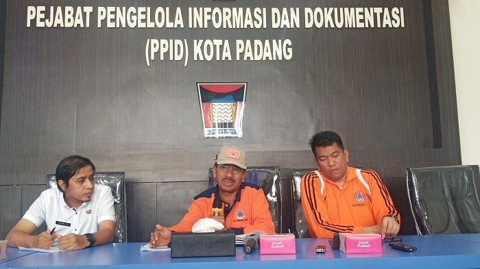 Hujan Deras Landa Kota Padang, BPBD Imbau Waspada Bencana Banjir, Longsor dan Pohon Tumbang
