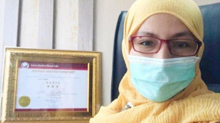 Soal Pasokan Oksigen di RS Sadikin Pariaman, dr. Arlina Azra: Belum Ada Kasus Kekurangan