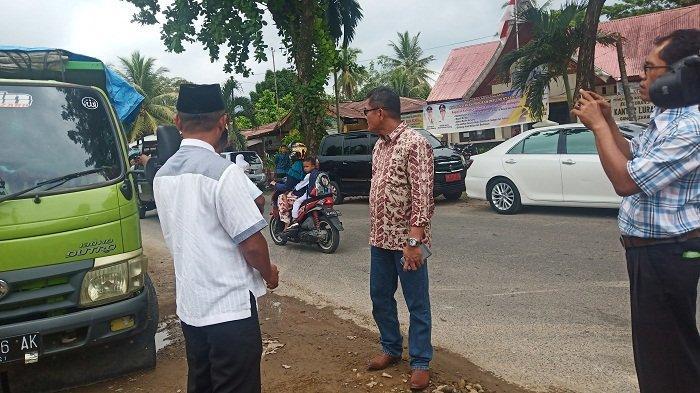 Ketua DPRD Padang Syafrial Kani Tegur Sopir Angkutan Tanah dan Pasir, Berikut Ini Penyebabnya