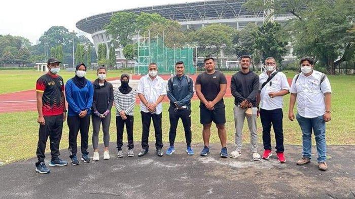 Ketua KONI Sumbar Agus Suardi Langsung Tinjau Persiapan Atlet PASI di Jakarta Setelah Dilantik