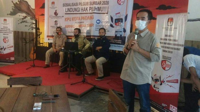 KPPS Wajib Rapid Test, Bagi yang Reaktif, Ketua KPU Padang Sebut Lanjut Tes PCR