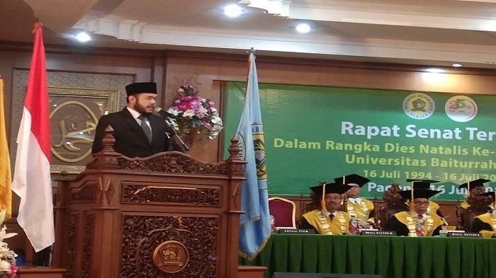 Universitas Baiturrahmah Mulai Kuliah Tatap Muka September 2020, Kampus Berbasis Ilmu Kesehatan