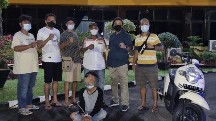 Oknum Pelajar SMK di Kota Padang Nekat Curi Motor, Dicurigai Jual Honda Scoopy Tanpa Surat-surat
