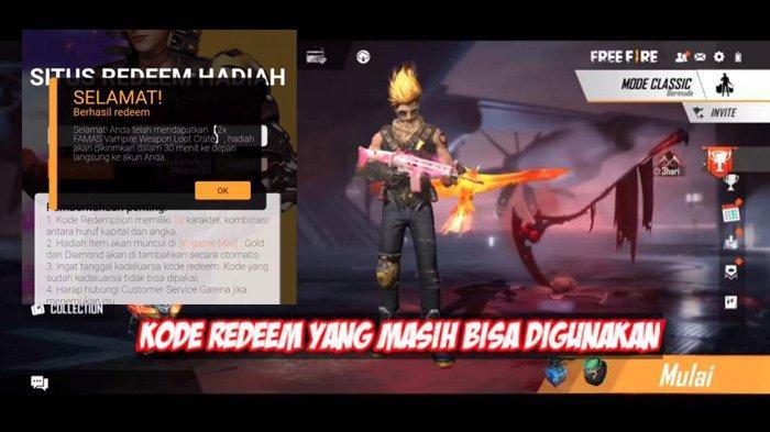 Kumpulan Kode Redeem Free Fire Ff Terbaru Oktober 2020 Dapatkan Hadiah Hayato Bobble Head Tribun Padang