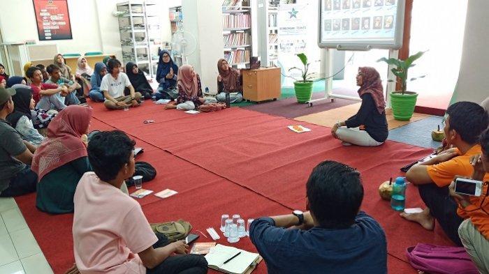 Diskusi Bareng Muda Literasi, Orang Utan Friends Padang Bahas soal Konservasi dan Perubahan Iklim