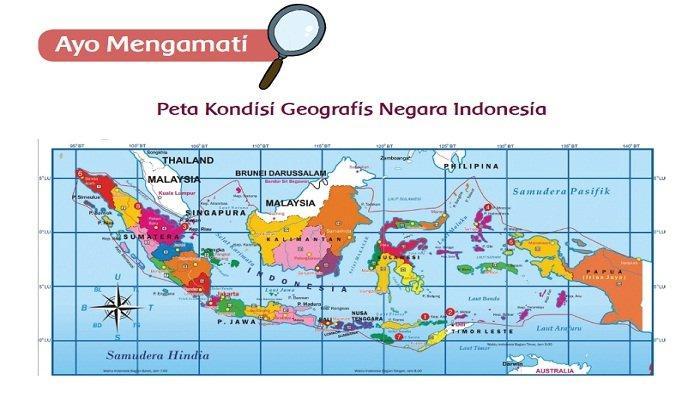 Kondisi Geografis Pulau Bali dan Nusa Tenggara, Jawaban Tema 1 Kelas 5 Halaman 35