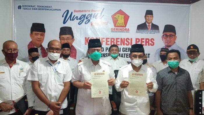 Usung Nasrul Abit-Indra Catri, Gerindra Masih Buka Peluang Koalisi, 3 Partai Sedang Komunikasi